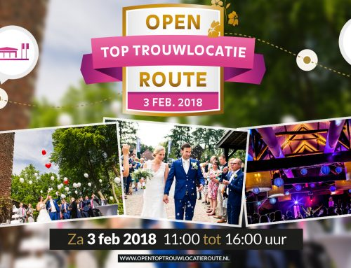 3 februari | Open Top trouwlocatie Route