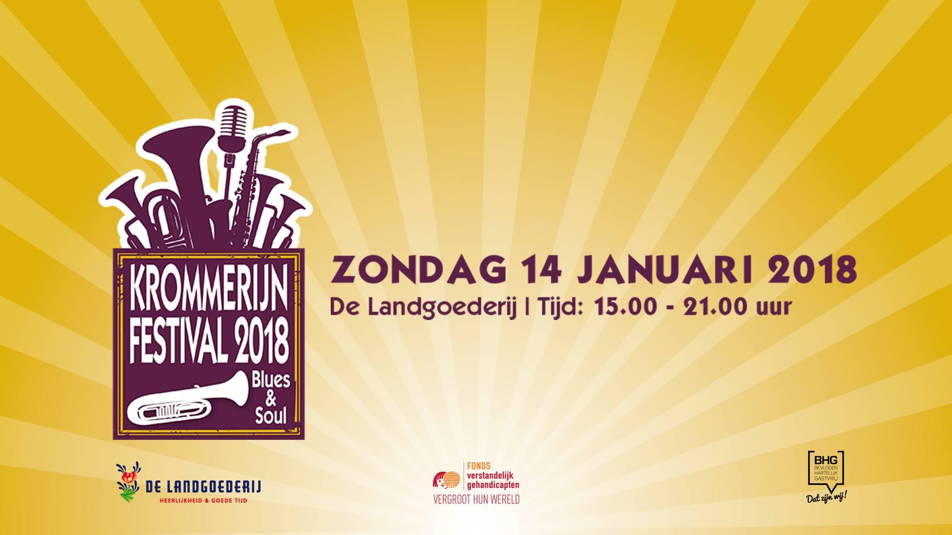 14 januari | Krommerijn Festival