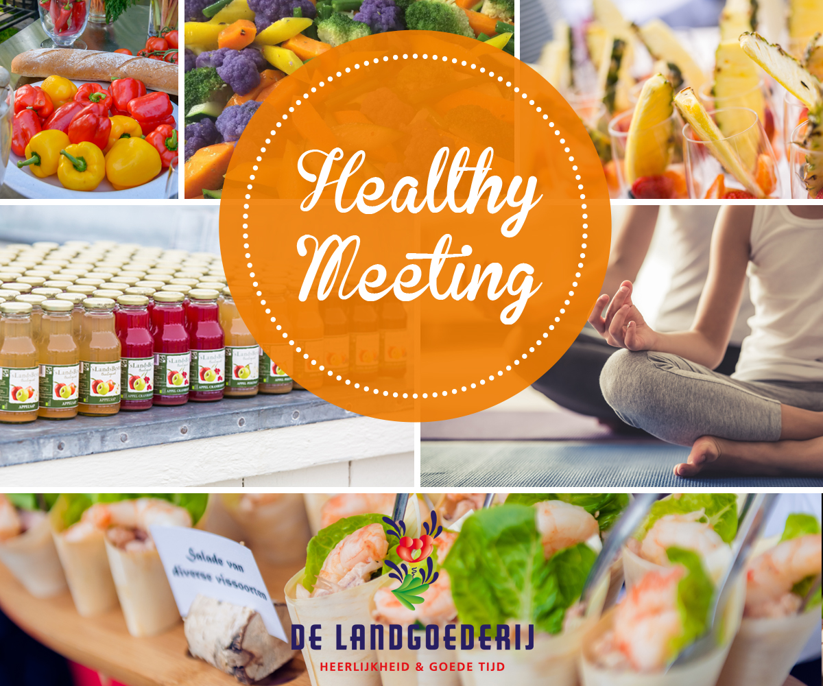 Nieuw concept: Healthy Meeting