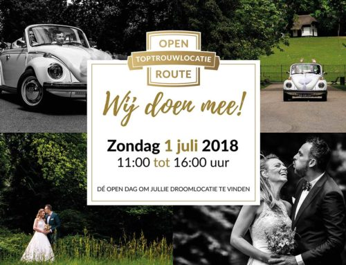 1 juli | Open Top trouwlocatie Route