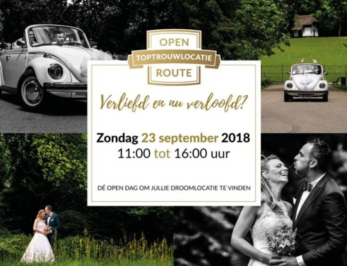 23 september | Open Top trouwlocatie Route