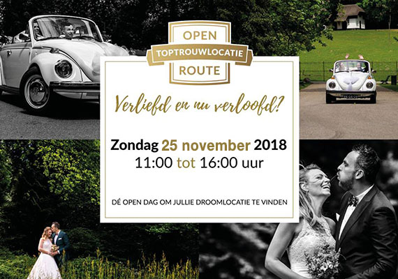 25 november | Open Top trouwlocatie Route