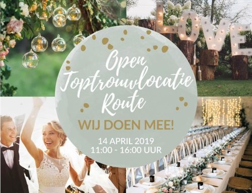 14 april | Open Top Trouwlocatie Route
