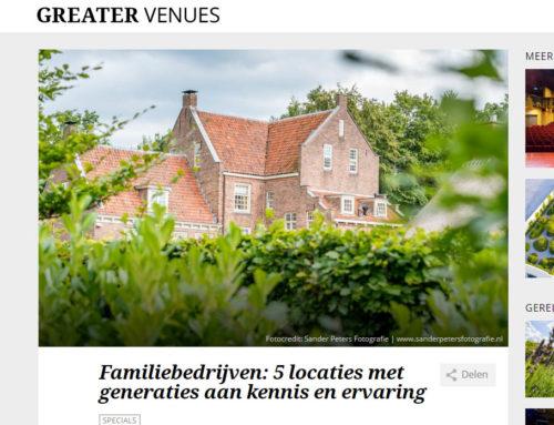 Greater Venues: 5 locaties met generaties aan kennis en ervaring