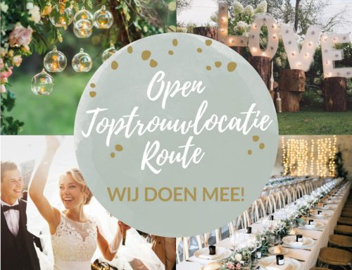 Open Toptrouwlocatie Route 27 september