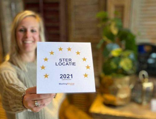 We zijn Meeting Review Ster locatie 2021!